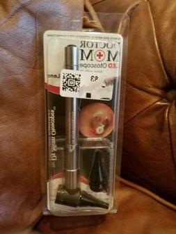 Doctor Mom OTOSCOPE • LED Source White Light Stainless •