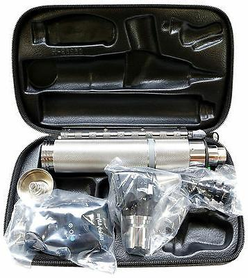 diagnostic set complete with otoscope opthalmoscope handle