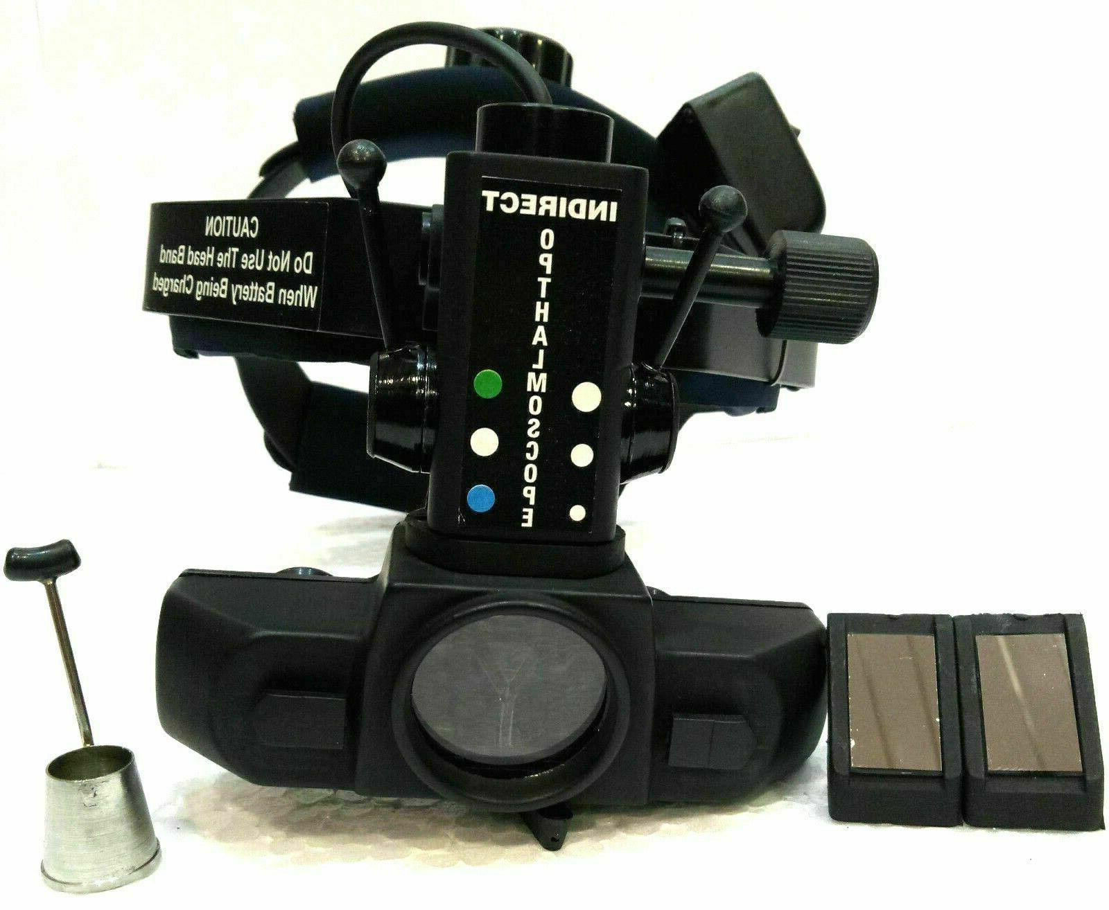 indirect ophthalmoscope with carry bag and other