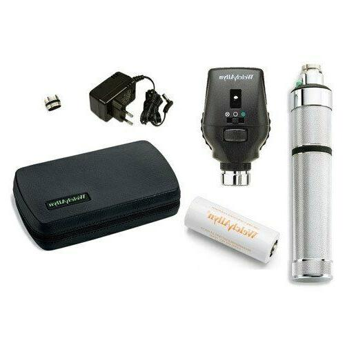 ophthalmoscope with rechargeable set led 11772 vcl