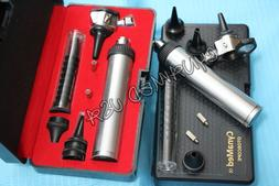 NEW 4X LENS Professional Otoscope Set ENT Medical Diagnostic