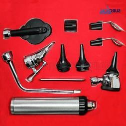 otoscope and ophthalmoscope ent set medical diagnostic