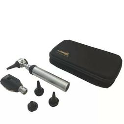 RA Bock Diagnostic OPHTHALMOSCOPE OTOSCOPE Kit in Black Tort